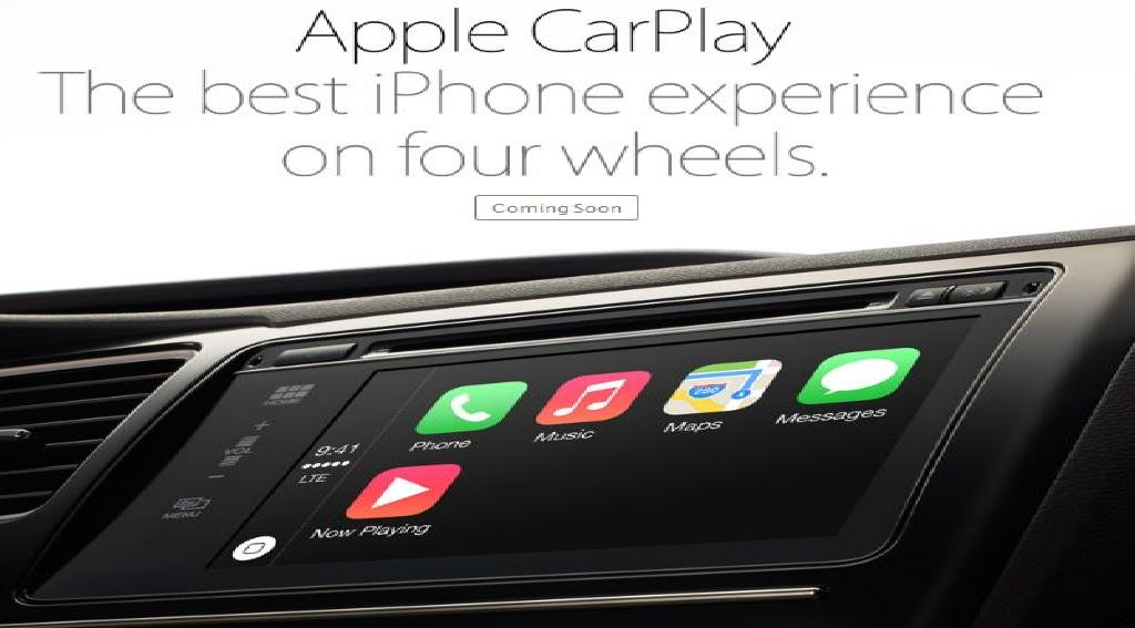 CarPlay - Disponible en iOS 7.1